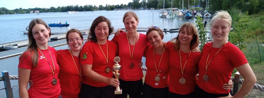Unsere Damen feiern Erfolge auf der Deutschen Meisterschaft...